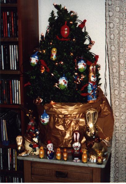 Unser Weihnachtsbaum 1999