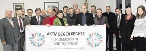 """Pressegespräch zur Vorstellung des Netzwerkes """"TIR gegen Rechts"""""""