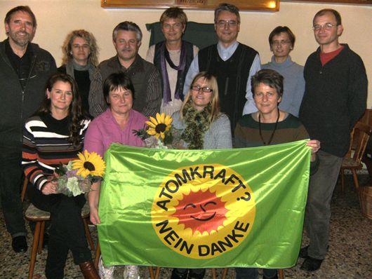 Der Kreisvorstand von Bündnis 90 / Die Grünen