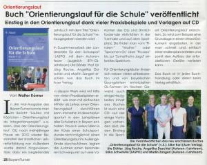 Artikel in der Januarausgabe des Bayernturners - bei Klick auf das Bild erscheint eine Großansicht