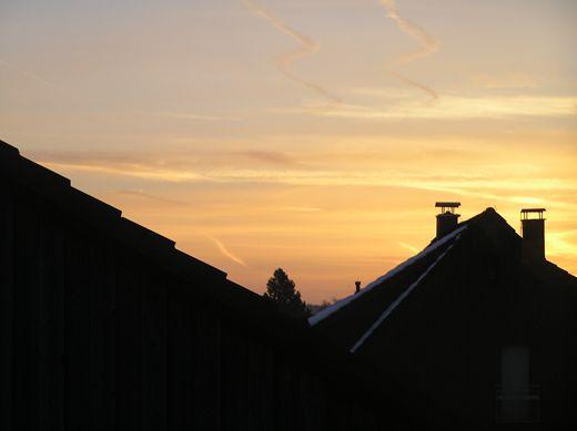 Endlich wieder einmal Sonne nach monatelangen trüben Aussichten.
