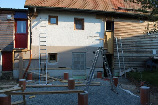 Baustellenstand am 15.07.2013
